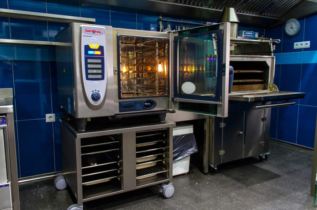 Nuestro horno RATIONAL es la joya de la cocina